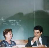 Curso de Grafística y Documentoscopia en la Universidad de Medicina Legal de Valencia en 1999