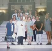 Clausura del curso  de Grafística y Documentoscopia en la Universidad de Medicina Legal de Valencia en 1999